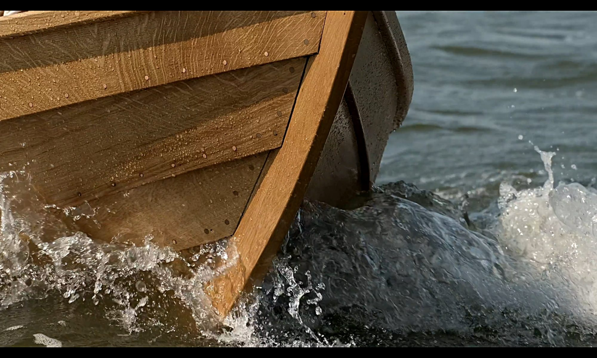 Imagefilm Holzbootsbau Weiß